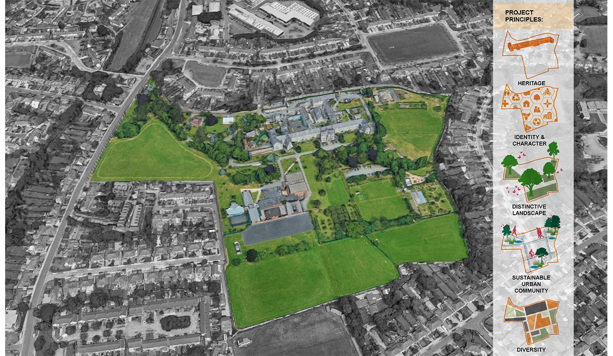 Plan for housing on Central Mental Hospital site in Dublin